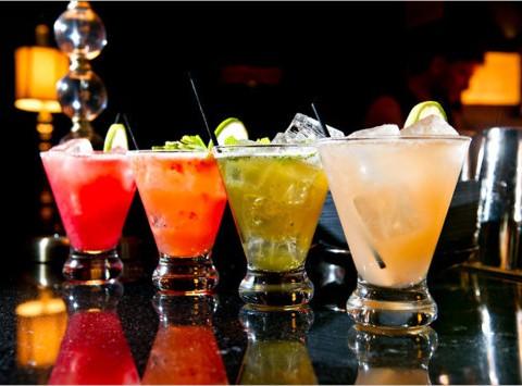 Drinks opstilling fra bararrangement